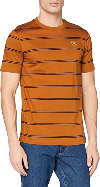 Scotch & Soda Gestreiftes Baumwoll T-Shirt Camiseta para Hombre
