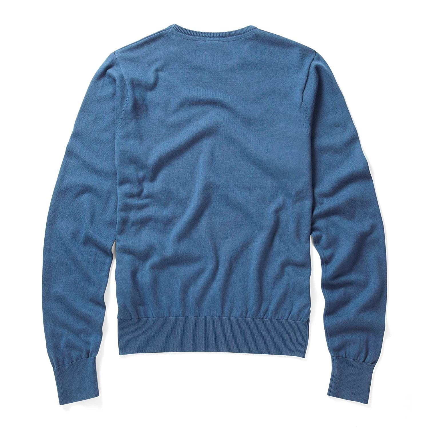 883 Police Mens Muraco Stellar Blue Knitwear Top Sweater Long Sleeve Knit Jumper