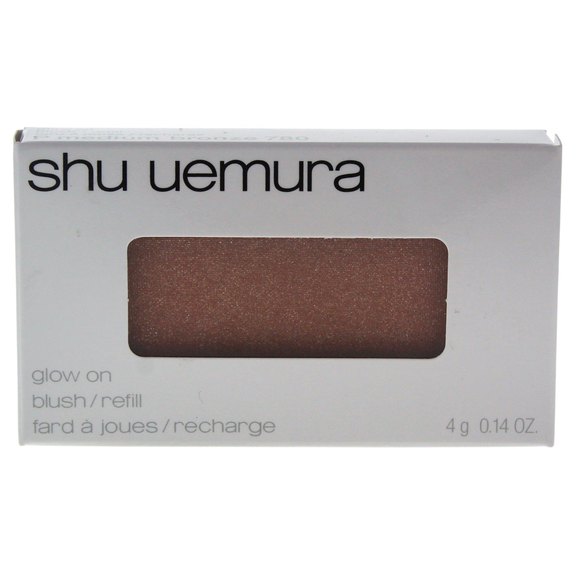 Shu Uemura Glow On Blush for Women, Medium Bronze (refill), 0.14 Ounce