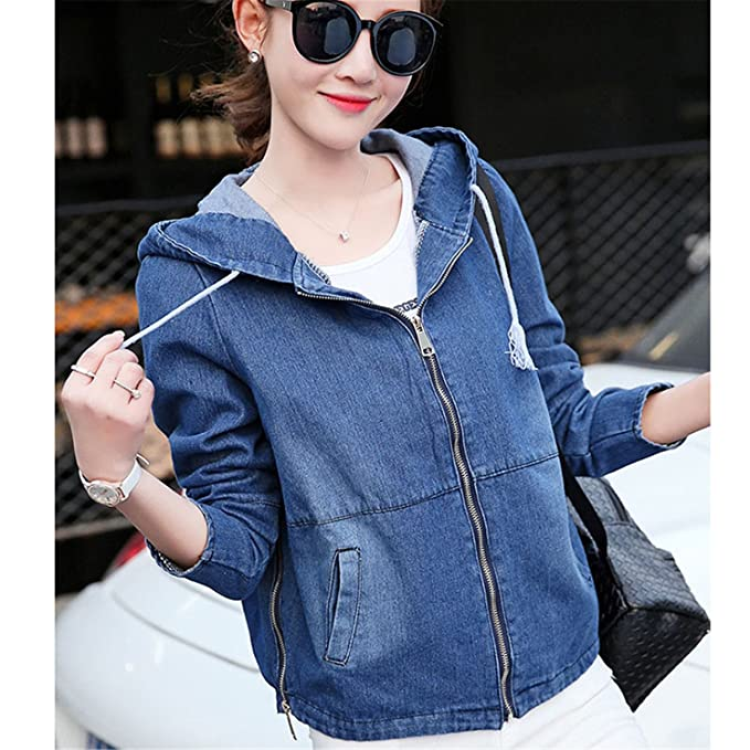 Ivan Johns Hot Women Loose Denim Jacket New Spring Autumn Jean Jackets Women Fashion Women Short