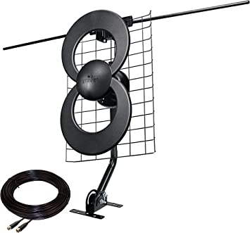 ClearStream 2V Indoor//Outdoor HDTV Antenna with Mount 60 Mile Range