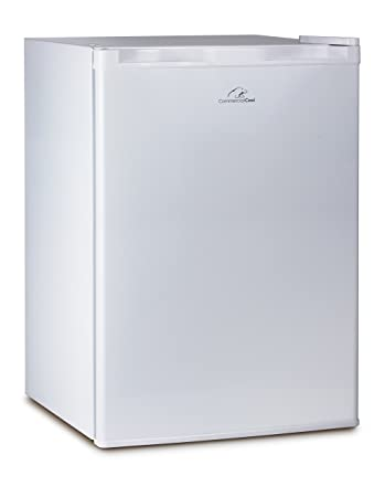 Commercial Cool CCR26W Compact Single Door Refrigerator And Freezer, 2.6  Cu. Ft. Mini