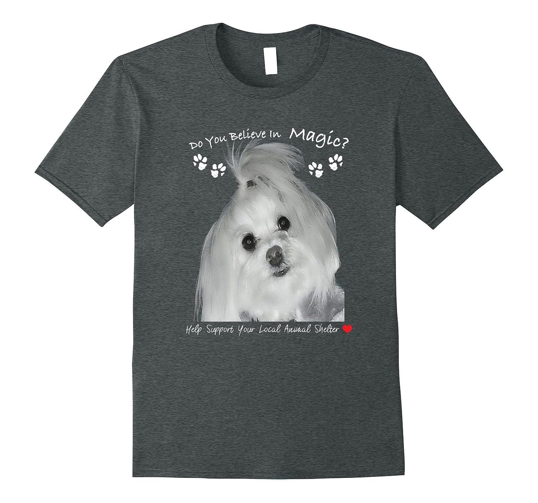 230c1f66 do you believe in MAGIC? Maltese Dog Lover Tees-TH - TEEHELEN