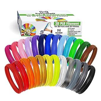Recambios de filamento de bolígrafo 3D – filamento PLA 1,75 mm ...