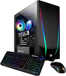 iBUYPOWER Gaming PC Computer Desktop Trace 4 9310 (AMD Ryzen 5 3600 3.6GHz, AMD Radeon RX 5500 XT 4GB, 8GB DDR4 RAM, 240GB SSD, WiFi Ready, Windows 10 Home)