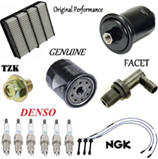 Tune Up Kit Air Oil Fuel Filters Plugs Wire for Toyota Tacoma 3.4L 1995-