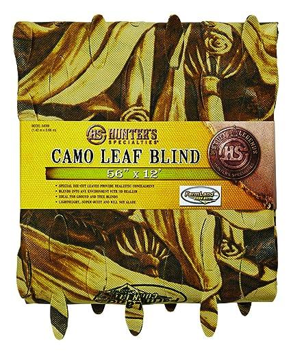 5b03271f4a2db Amazon.com : Hunters Specialties Farmland Corn Belt Camo Leaf Blind  Material, 12ft : Hunting Blinds : Sports & Outdoors