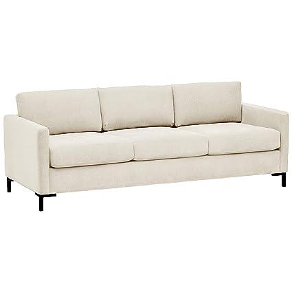 Rivet Edgewest Low Back Modern Sofa, 87\