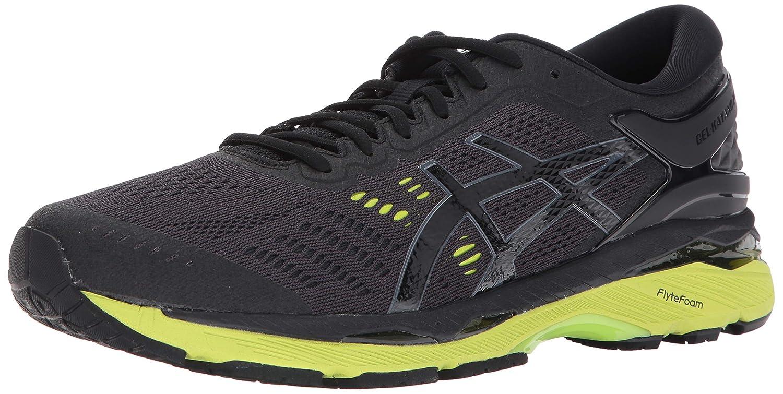 f48434d89585 Amazon.com | ASICS Gel-Kayano 24 Men's Running Shoe, Black/Green Gecko/ Phantom, 6 M US | Road Running