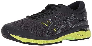 usa cheap sale purchase authentic popular design ASICS Gel-Kayano 24 Running-Shoes Black/Green Gecko/Phantom ...