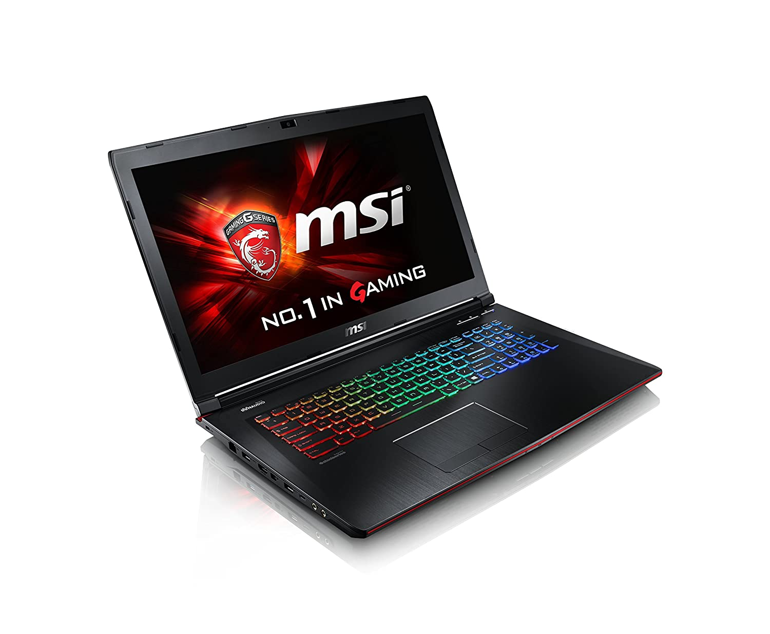 MSI GE72 APACHE-235 17.3' GAMING LAPTOP NOTEBOOK Geforce GTX 960M i7-4720HQ 16GB 1TB WINDOWS 10 BACKLIT KEYBOARD