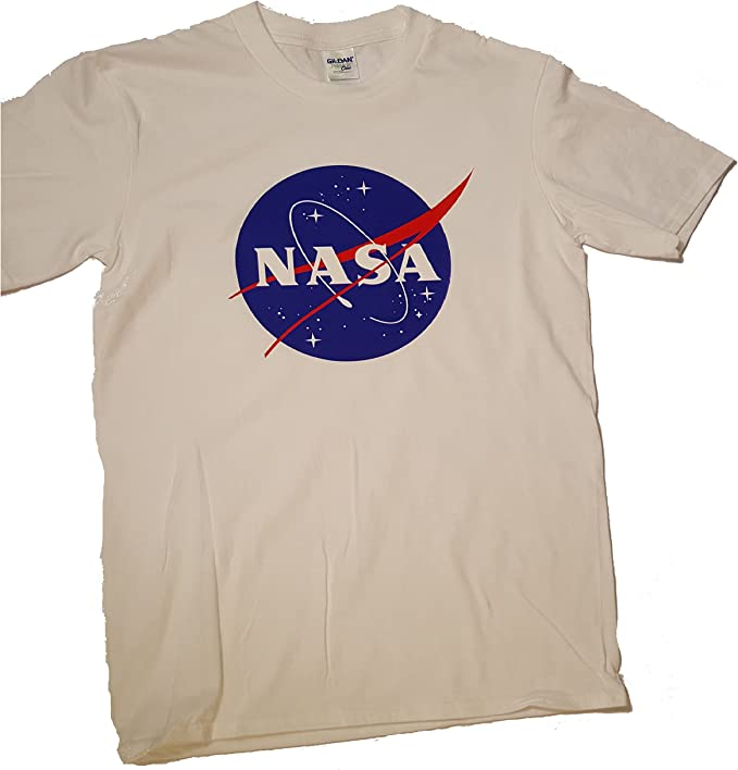 Logotipo licenciado de la albóndiga de la NASA Camiseta para hombre Premium (Impresión de la transferencia de la ropa): Amazon.es: Ropa y accesorios