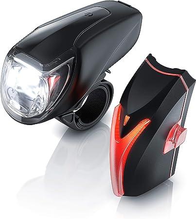 regensicher yidenguk Fahrradlicht Set StVZO zugelassen Fahrradbeleuchtung bestehend aus Frontlicht /& R/ücklicht USB Led Fahrradbeleuchtung abnehmbar einfache Montage