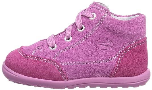 Richter Kinderschuhe Mini 0022-521, Baby Mädchen Krabbelschuhe, Pink (fuchsia/lollypop 3501), 19 EU
