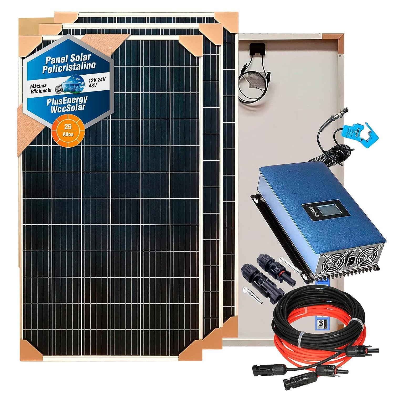 Kit Solar para Aire Acondicionado Cero Consumo Eléctrico: Amazon ...