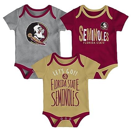 a7d8286edd6 Gen 2 NCAA Florida State Seminoles Newborn   Infant Little Tailgater  Bodysuit