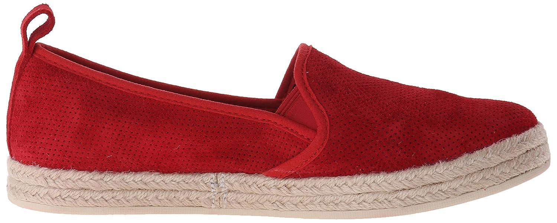 CLARKS Women's Azella Revere Flat Shoe B012OTAHFM 10 W US|Red Suede