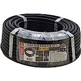 S & M 010057–Tuyau pour arrosage en goutte à goutte, 16mm x 50m, couleur noir