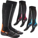 CFLEX HIGH PERFORMANCE - Lot de 3 paires de chaussettes - ski/snowboard - 3 coloris - taille 35-38