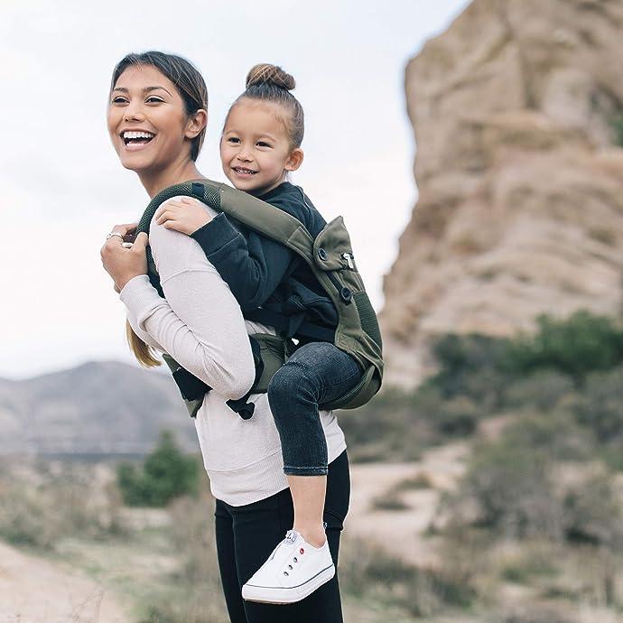 Ergobaby 360系列 透气款 4种背法婴儿背带 抱袋 5.5折$97.28 海淘转运到手约¥749 国内¥1650