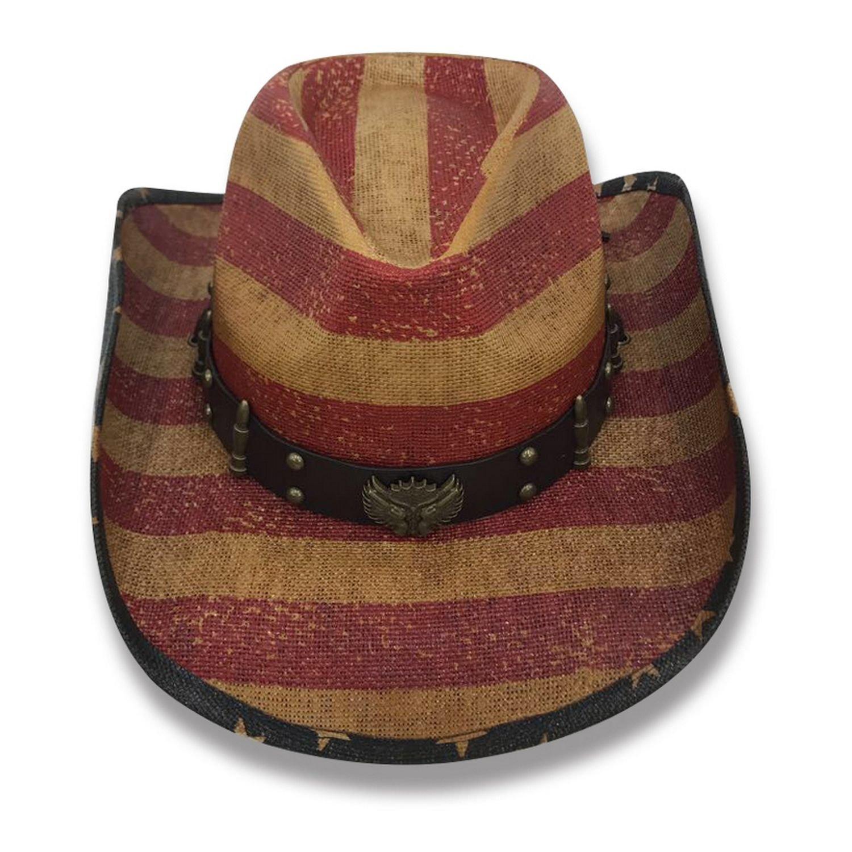 AccessHeadwear Old Stone Liberty V3 Men's Women's Unisex Cowboy Drifter Style Hat
