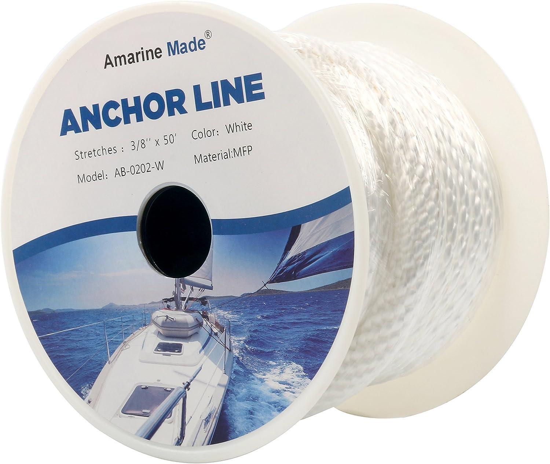 Corda 8 millimetri 100ft Boatworld Anchor 30mt