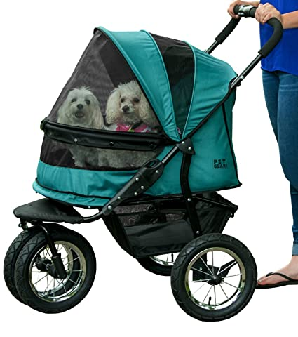 972c909611c Amazon.com   Pet Gear NO-Zip Double Pet Stroller