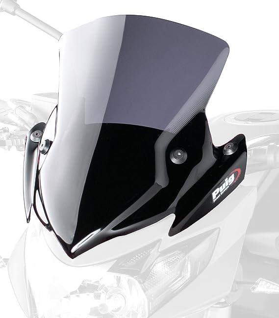 Puig 5646f Windschutzscheibe New Generation Suzuki Gsr750 11 13 Transparent Dunkelgrau Rauch Auto