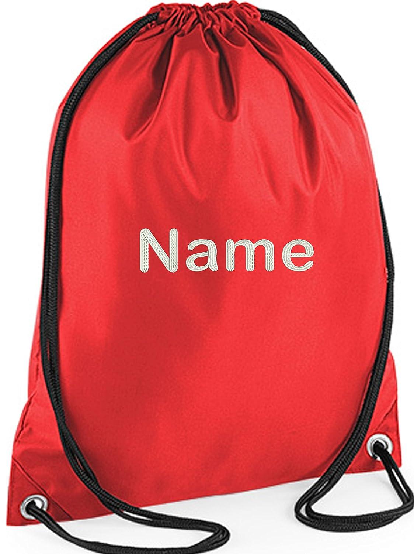 Personalised Drawstring Bag Any Name Power Rangers Swimming School Nursery PE 1