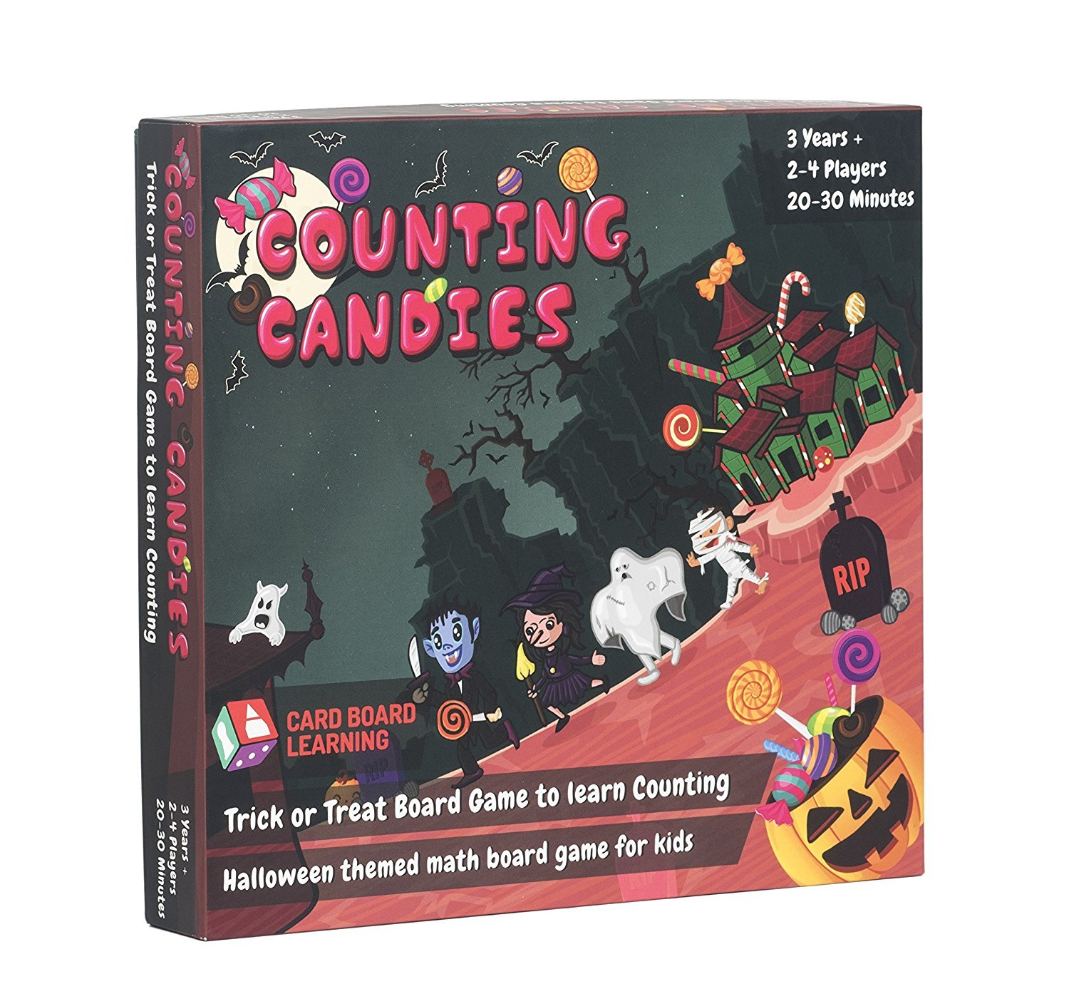 Counting Board Game for Kids - Counting Candies STEM Gift for Kids 4 Years and Above.