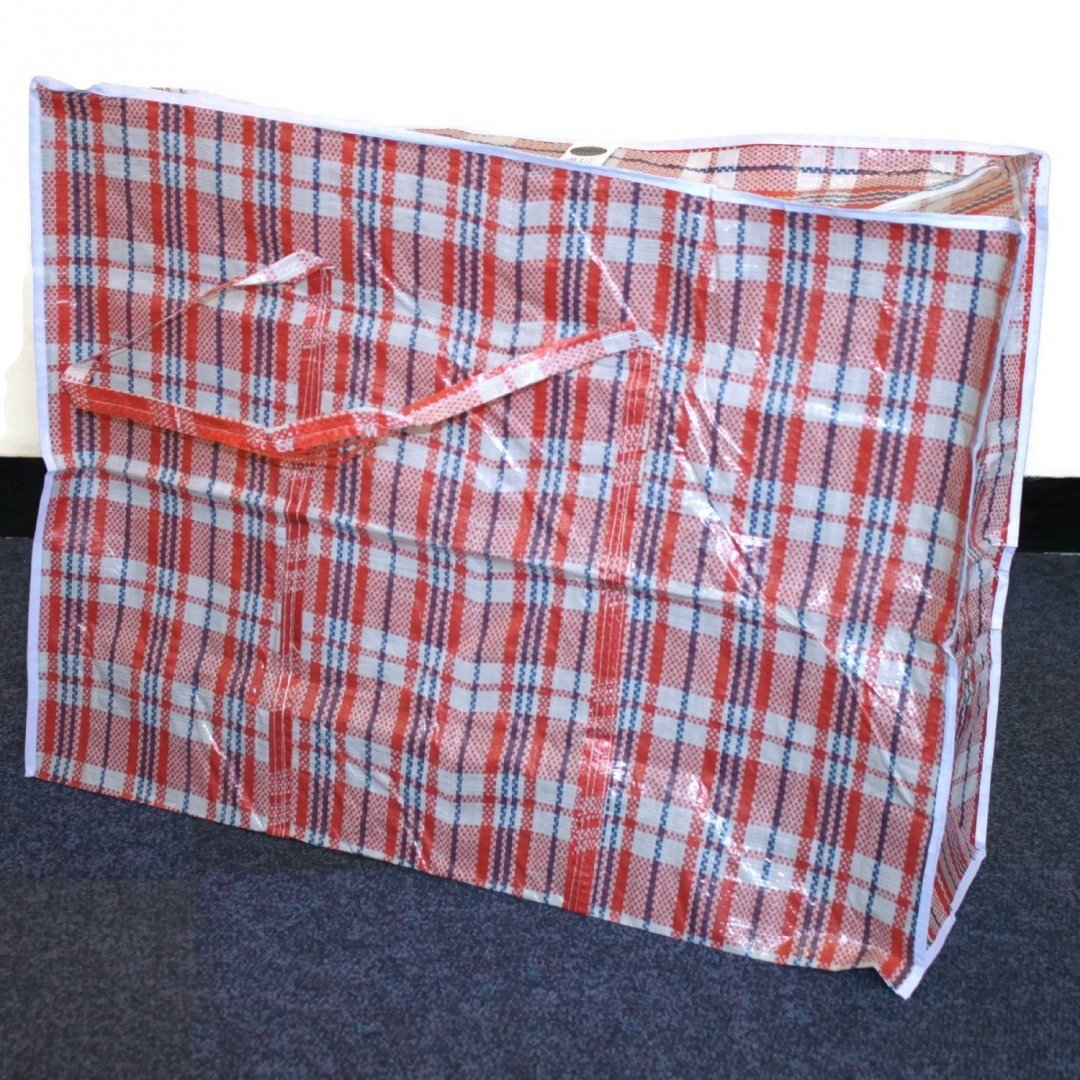 New Quality Strong Jumbo Storage Laundry zipped bag Reusable Size M Medium: 70 x 60 x 28 cm / 28