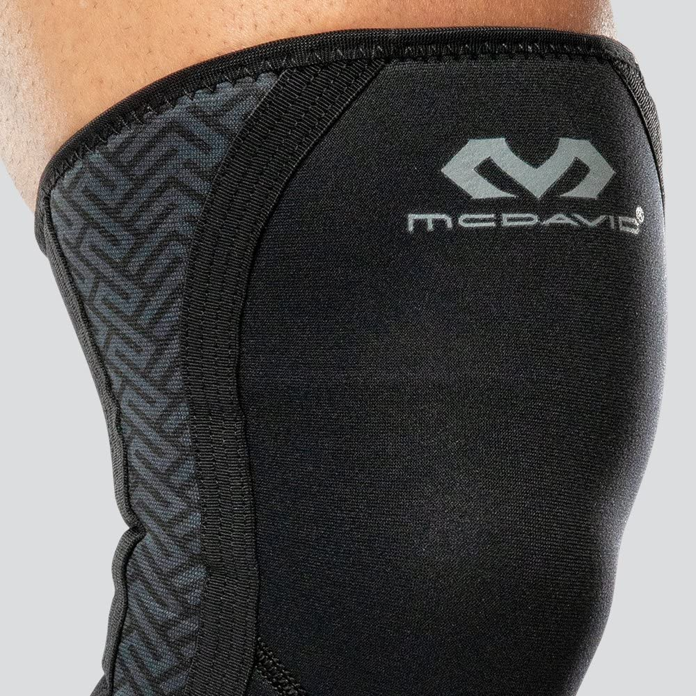 Weightlifting /& Cross Training Knee Sleeves Powerlifting Gym Workout Lifting Squats Also for WOD Enhanced Performance for Men and Women McDavid CrossFit 1 Pair Compression Exo Knee Support 6mm Thick Neoprene