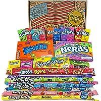 Heavenly Sweets Wonka Nerds Godis presentförpackning- Amerikansk retro - Godis & sötsaker - blandat, Rainbow, och Mini…