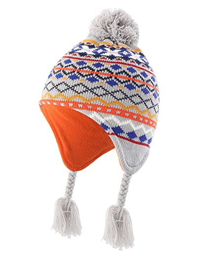 a899269c404f Amazon.com  Home Prefer Infant Baby Toddler Boys Winter Hat with ...