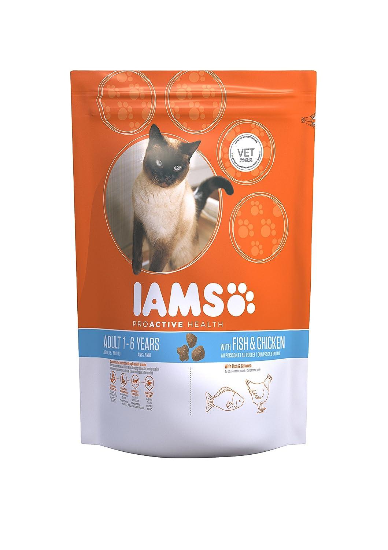 IAMS Croquette au Poisson pour Chat Adulte 15 kg 81409370