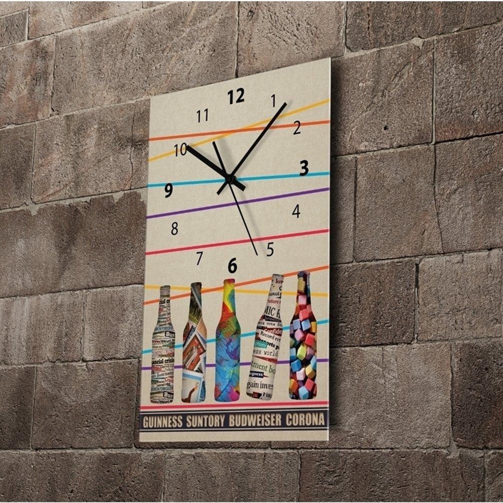 (リムピドゥ)LIMPID Design WALL CLOCK フレームがない アナログタイプ 無騒音 連続秒針 インテリア掛け時計 RH053 B07C8BJ9CP