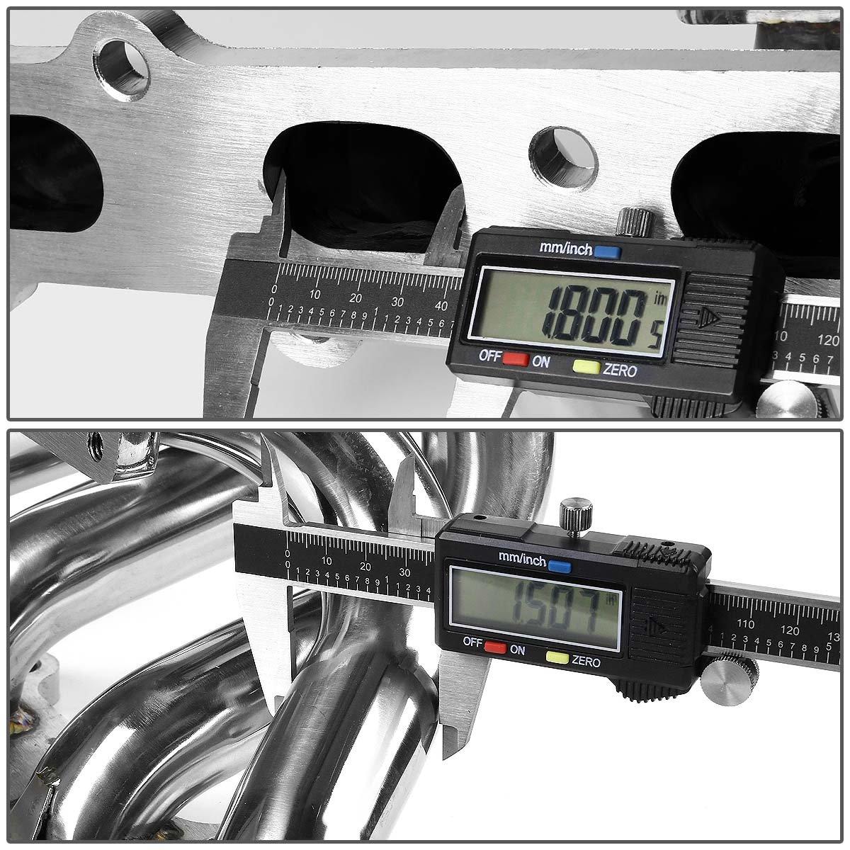 Mazda Miata MX5 1,8 acero inoxidable T25/T28 montaje superior Turbo colector: Amazon.es: Coche y moto