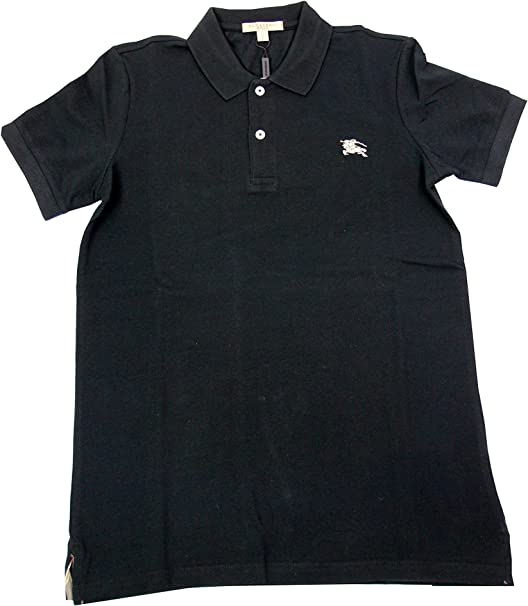 BURBERRY BRIT - Polo para Hombre OXFORD - negro, M: Amazon.es ...