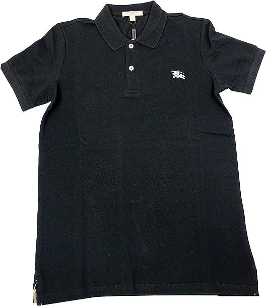 BURBERRY BRIT - Polo para Hombre OXFORD - negro, M: Amazon.es ...