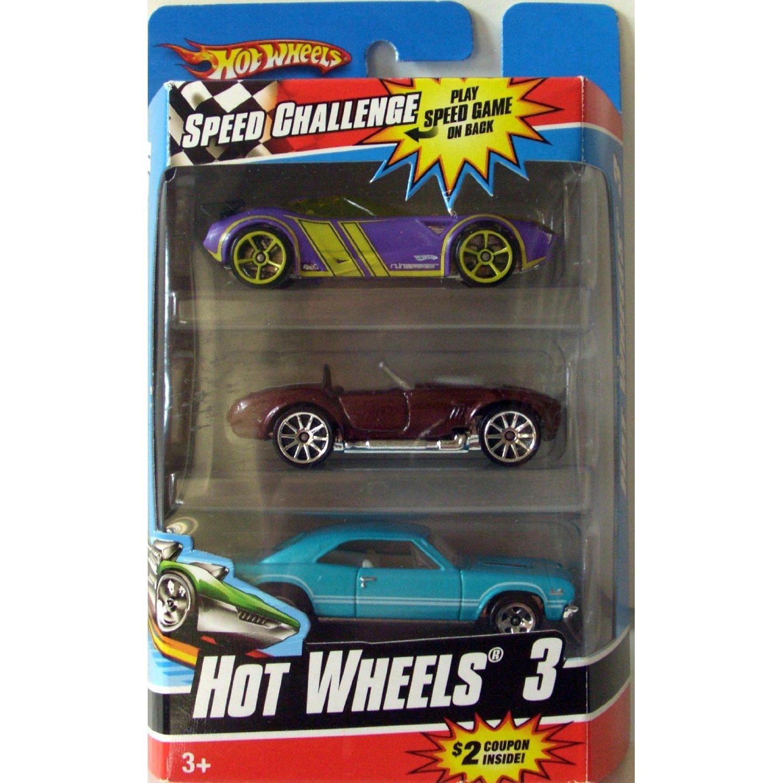 Hot Wheels 3-er Geschenkset 1:64 - sortierte Auswahl (keine Vorauswahl möglich)