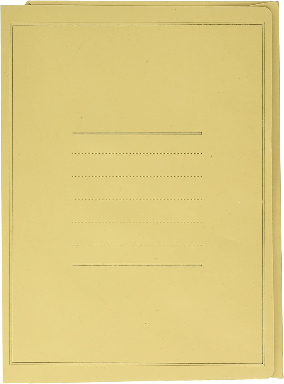 Pigna 0221802VE Eco Cartelline Confezione 50 pz colore verde 3 Lembi Senza Stampa
