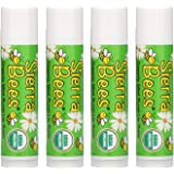 Sierra Bees Organic Lip Balms Mint Burst 4 Pack 15 oz 4 25 g Each
