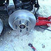 1999-2001 Jeep XJ Max Brakes Front Premium Brake Kit OE Series Rotors + Ceramic Pads KT026641 Fits: 2000-2006 Jeep Wrangler