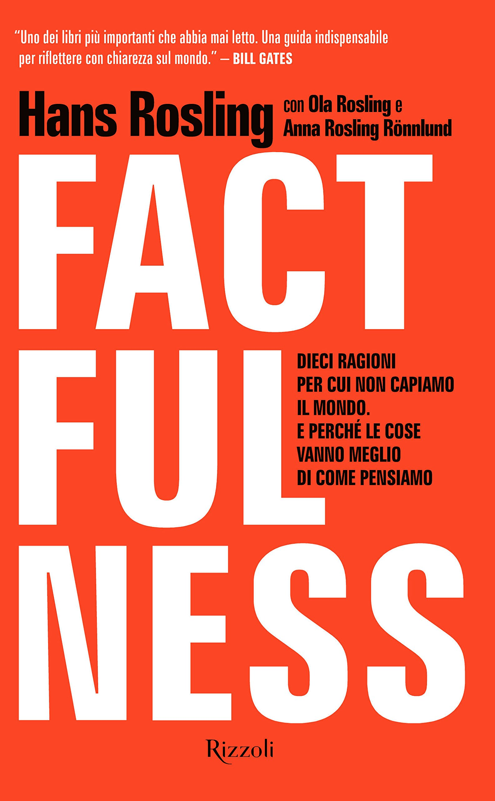 Copertina Libro Factfulness