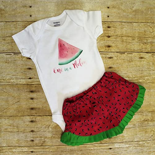 50866f15a Amazon.com: One in a Melon Watermelon Outfit, multiple sizes ...