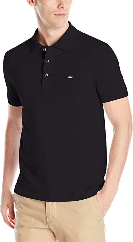 Mens Stretch Fit Short Sleeved Slim Fit Premium Quality Polo Shirt New Short