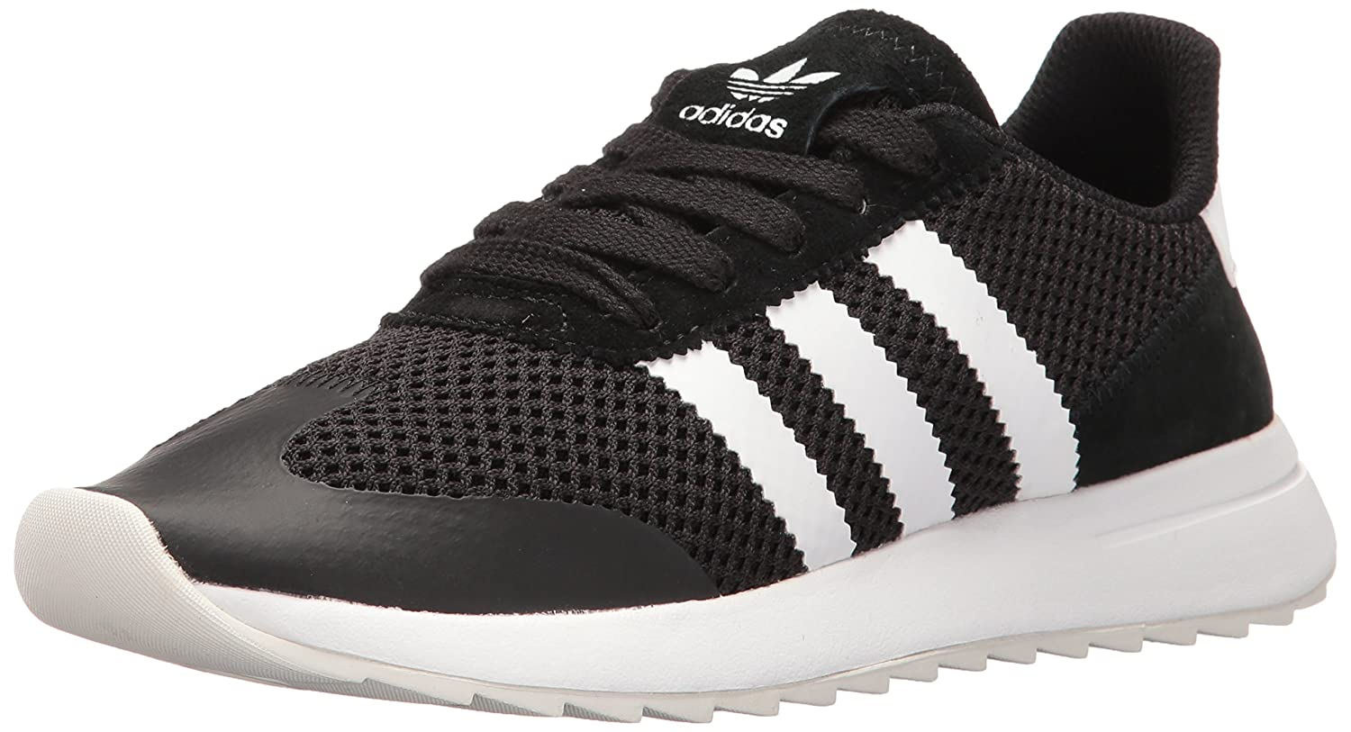 adidas Women's Flashback W Fashion Sneaker B01HNIQ7KI 7.5 B(M) US|Black/White/Black
