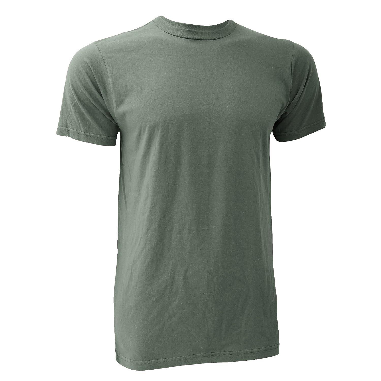 Anvil - Camiseta básica fashión orgánica de manga corta para hombre- 100% Algodón orgánico Certificado: Amazon.es: Ropa y accesorios