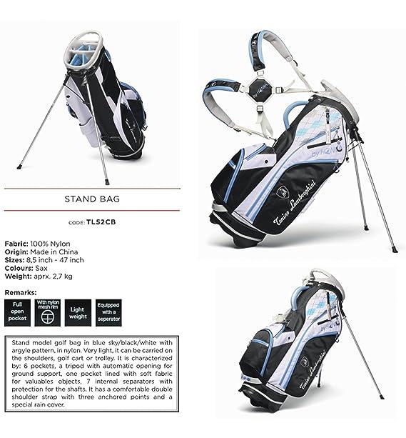 Amazon.com: Tonino Lamborghini – Bolsa para palos de golf ...