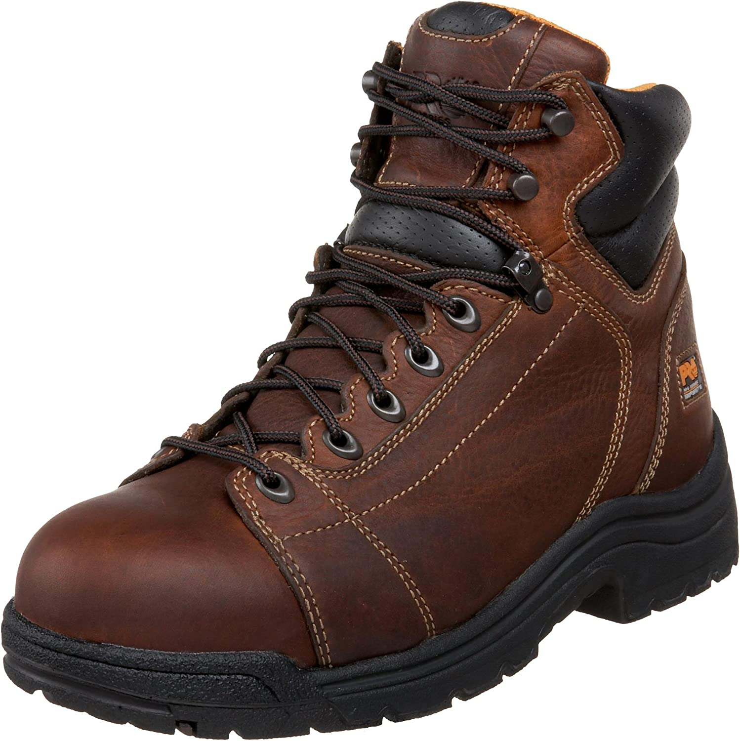 "Timberland PRO Men\'s 50506 Titan 6"" Lace to Toe Safety Toe Boot,Haystack Brown,9.5 W 81IS5qyAzeSUL1500_"